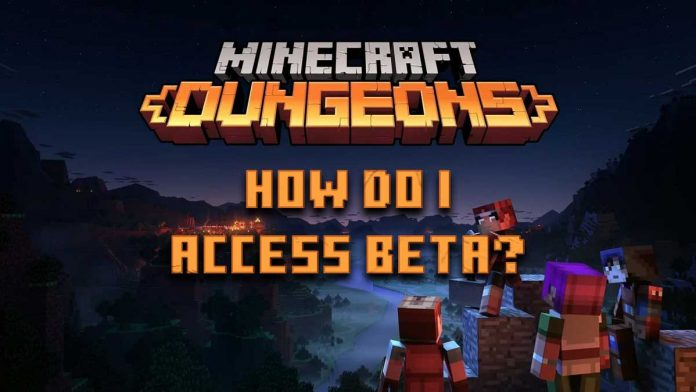 Minecraft Dungeons download for android